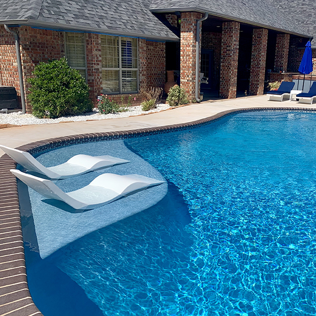 Aqua Chairs | In-Pool Chaise Lounge Chair | $499 each with Free Shipping