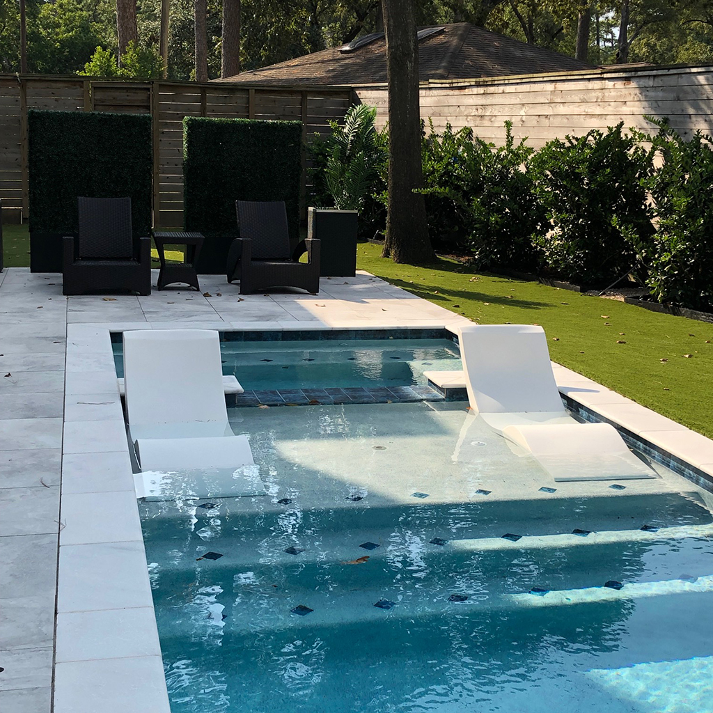 Outdoor Natural Gas Fire Pit Table, In Pool Chaise Lounger Affordable Alternative For The Ledge Aqua Chairs